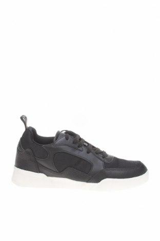 Мъжки обувки Lyle & Scott, Размер 41, Цвят Черен, Текстил, естествена кожа, Цена 136,50лв.