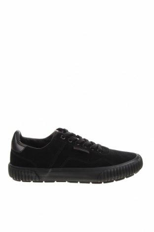 Мъжки обувки Lyle & Scott, Размер 40, Цвят Черен, Естествен велур, Цена 136,50лв.