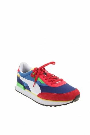 Мъжки обувки PUMA, Размер 45, Цвят Многоцветен, Текстил, еко кожа, естествен велур, Цена 126,75лв.
