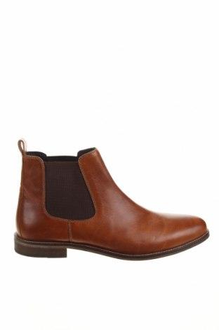 Мъжки обувки Pier One, Размер 43, Цвят Кафяв, Естествена кожа, Цена 149,00лв.