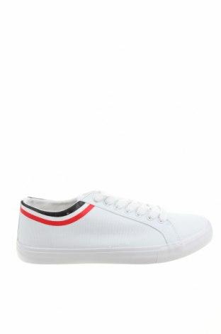 Мъжки обувки Pier One, Размер 44, Цвят Бял, Текстил, Цена 51,75лв.