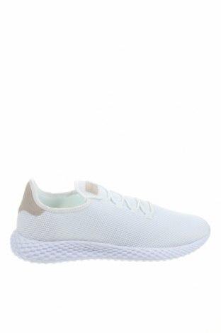 Мъжки обувки Pier One, Размер 46, Цвят Бял, Текстил, Цена 74,25лв.