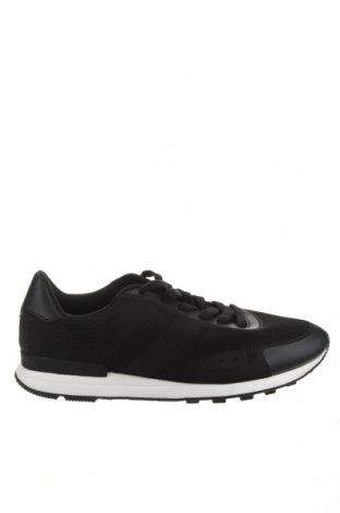 Мъжки обувки Pier One, Размер 46, Цвят Черен, Текстил, еко кожа, Цена 51,75лв.