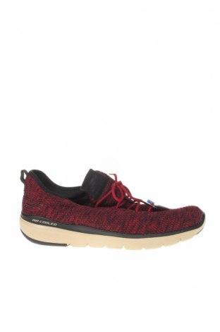 Мъжки обувки Skechers, Размер 42, Цвят Червен, Текстил, Цена 67,73лв.