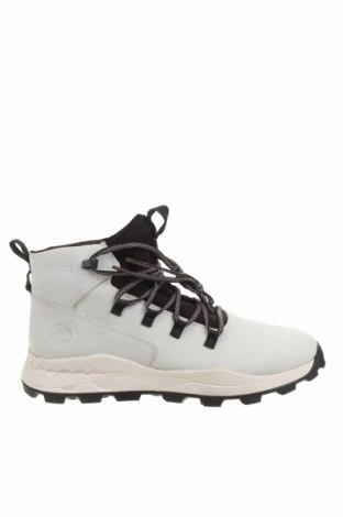 Ανδρικά παπούτσια Timberland, Μέγεθος 44, Χρώμα Λευκό, Γνήσιο δέρμα, Τιμή 111,73€