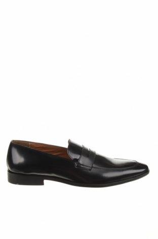 Мъжки обувки Zign, Размер 48, Цвят Черен, Естествена кожа, Цена 91,50лв.