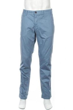 Мъжки панталон Angelo Litrico, Размер L, Цвят Син, 100% памук, Цена 28,35лв.