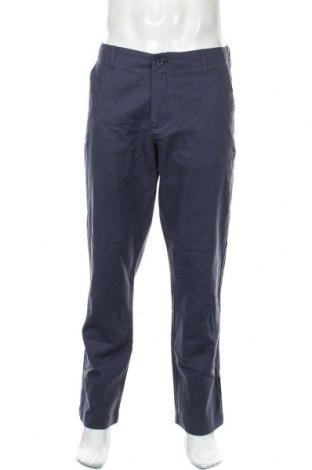 Ανδρικό παντελόνι Banana Republic, Μέγεθος L, Χρώμα Μπλέ, 55% λινό, 45% βαμβάκι, Τιμή 29,62€
