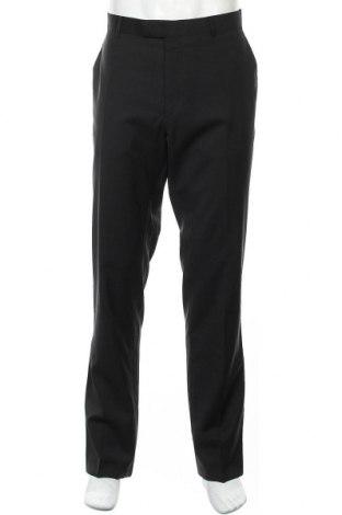 Мъжки панталон Bugatti, Размер XL, Цвят Черен, Вълна, Цена 109,85лв.