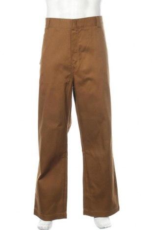 Мъжки панталон Carhartt, Размер XL, Цвят Кафяв, Памук, Цена 126,75лв.