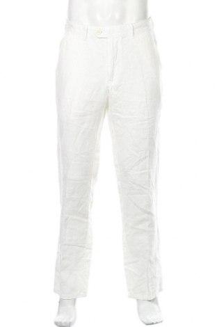Мъжки панталон Christian Berg, Размер L, Цвят Бял, Цена 59,25лв.
