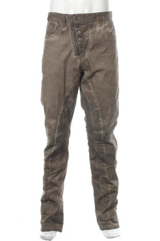 Ανδρικό παντελόνι Cipo & Baxx, Μέγεθος L, Χρώμα Καφέ, 98% βαμβάκι, 2% ελαστάνη, Τιμή 17,28€