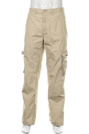 Ανδρικό παντελόνι Esprit, Μέγεθος L, Χρώμα  Μπέζ, 100% βαμβάκι, Τιμή 17,28€