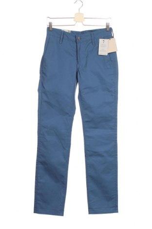 Мъжки панталон Levi's, Размер S, Цвят Син, 67% памук, 33% еластан, Цена 103,95лв.
