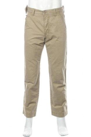 Мъжки панталон Mac, Размер M, Цвят Бежов, 98% памук, 2% еластан, Цена 26,93лв.