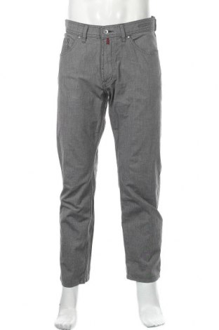 Мъжки панталон Pierre Cardin, Размер M, Цвят Сив, 97% памук, 3% еластан, Цена 35,28лв.