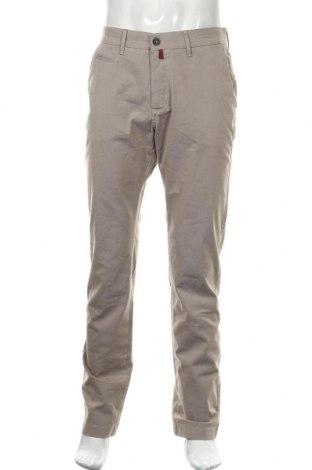 Мъжки панталон Pierre Cardin, Размер M, Цвят Бежов, 71% памук, 27% полиестер, 2% еластан, Цена 15,44лв.