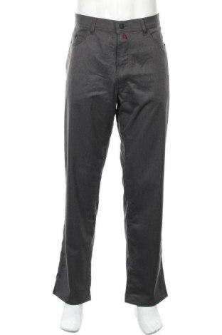 Мъжки панталон Pierre Cardin, Размер L, Цвят Сив, 75% полиестер, 22% вискоза, 3% еластан, Цена 39,48лв.