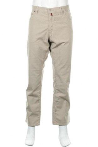 Мъжки панталон Pierre Cardin, Размер L, Цвят Бежов, 87% памук, 10% полиестер, 3% еластан, Цена 14,49лв.