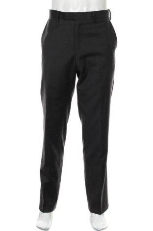 Мъжки панталон Pierre Cardin, Размер L, Цвят Сив, Вълна, Цена 42,84лв.
