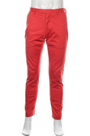 Pánské kalhoty  Polo By Ralph Lauren, Velikost M, Barva Červená, 97% bavlna, 3% elastan, Cena  1946,00Kč