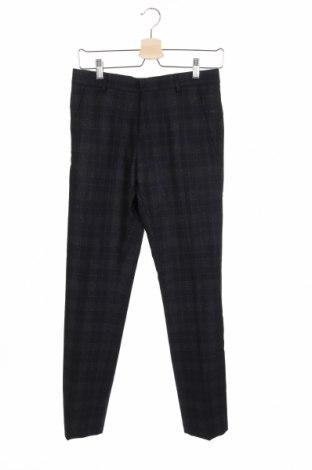 Pantaloni de bărbați Selected Homme, Mărime XS, Culoare Albastru, 59% lână, 35% poliester, 5% poliamidă, Preț 48,41 Lei
