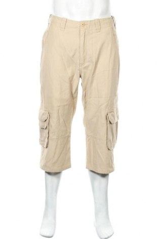 Мъжки панталон Teddy Smith, Размер M, Цвят Бежов, Памук, Цена 26,78лв.