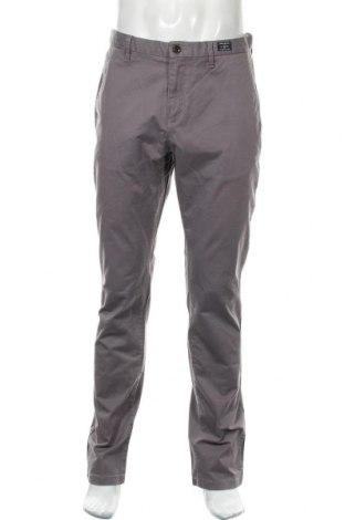 Ανδρικό παντελόνι Tommy Hilfiger, Μέγεθος L, Χρώμα Γκρί, 97% βαμβάκι, 3% ελαστάνη, Τιμή 33,77€