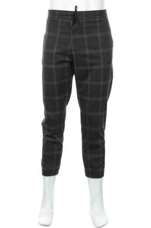 Ανδρικό παντελόνι Zara, Μέγεθος L, Χρώμα Γκρί, 64% πολυεστέρας, 33% βισκόζη, 3% ελαστάνη, Τιμή 9,94€
