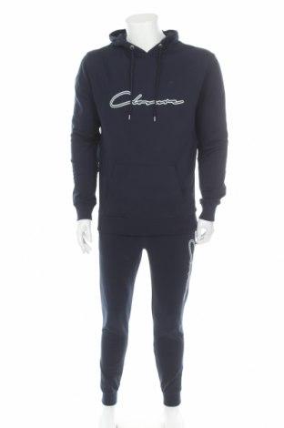 Αθλητικό ανδρικό σύνολο Closure, Μέγεθος M, Χρώμα Μπλέ, Βαμβάκι, Τιμή 24,90€