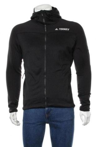 Ανδρικό φούτερ Adidas, Μέγεθος S, Χρώμα Μαύρο, 31% πολυαμίδη, 17% ελαστάνη, 52% πολυεστέρας, Τιμή 46,01€