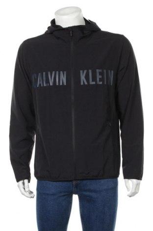 Ανδρικό φούτερ Calvin Klein, Μέγεθος L, Χρώμα Μαύρο, 86% πολυεστέρας, 14% ελαστάνη, Τιμή 53,74€