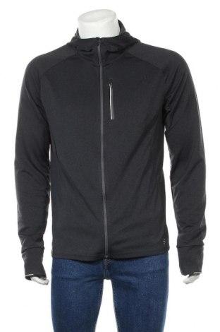 Мъжки суичър H&M Sport, Размер L, Цвят Сив, Полиестер, Цена 26,25лв.