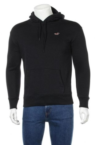 Ανδρικό φούτερ Hollister, Μέγεθος XS, Χρώμα Μαύρο, 70% βαμβάκι, 30% πολυεστέρας, Τιμή 23,09€