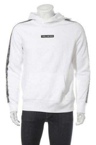 Ανδρικό φούτερ Hollister, Μέγεθος M, Χρώμα Λευκό, 60% βαμβάκι, 40% πολυεστέρας, Τιμή 24,90€