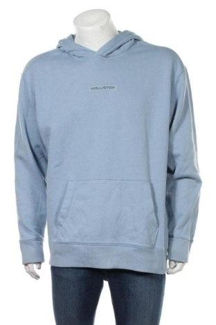 Ανδρικό φούτερ Hollister, Μέγεθος XL, Χρώμα Μπλέ, 60% βαμβάκι, 40% πολυεστέρας, Τιμή 18,76€