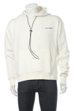 Pánská mikina  NIGHT ADDICT, Velikost M, Barva Krémová, 80% bavlna, 20% polyester, Cena  399,00Kč