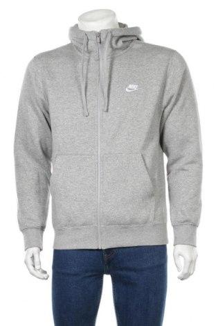 Ανδρικό φούτερ Nike, Μέγεθος S, Χρώμα Γκρί, 80% βαμβάκι, 20% πολυεστέρας, Τιμή 46,01€