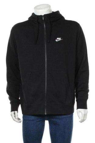 Ανδρικό φούτερ Nike, Μέγεθος L, Χρώμα Μαύρο, 80% βαμβάκι, 20% πολυεστέρας, Τιμή 46,01€