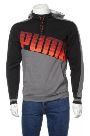 Мъжки суичър PUMA, Размер S, Цвят Многоцветен, 96% полиестер, 4% еластан, Цена 40,95лв.