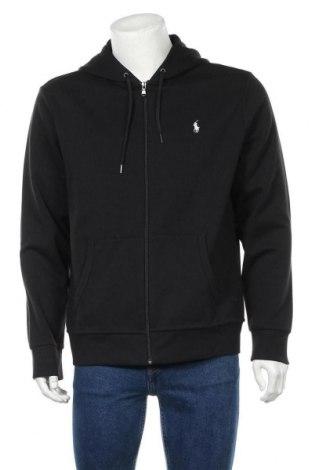 Ανδρικό φούτερ Polo By Ralph Lauren, Μέγεθος L, Χρώμα Μαύρο, 57% πολυεστέρας, 43% βαμβάκι, Τιμή 61,47€