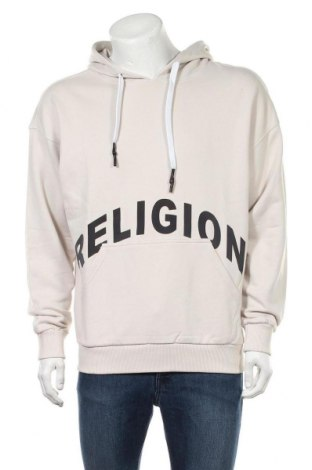 Hanorac de bărbați Religion, Mărime S, Culoare Bej, Bumbac, Preț 83,81 Lei