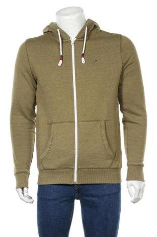 Ανδρικό φούτερ Tommy Hilfiger, Μέγεθος M, Χρώμα Πράσινο, 50% βαμβάκι, 50% πολυεστέρας, Τιμή 49,87€
