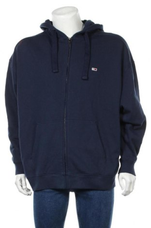 Ανδρικό φούτερ Tommy Hilfiger, Μέγεθος XL, Χρώμα Μπλέ, 98% βαμβάκι, 2% ελαστάνη, Τιμή 53,74€