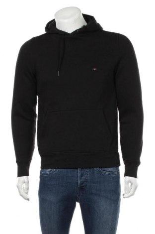 Pánská mikina  Tommy Hilfiger, Velikost S, Barva Černá, 64% bavlna, 36% polyester, Cena  679,00Kč