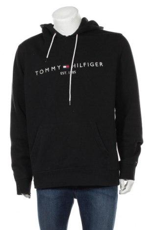 Ανδρικό φούτερ Tommy Hilfiger, Μέγεθος XXL, Χρώμα Μαύρο, 64% βαμβάκι, 36% πολυεστέρας, Τιμή 38,27€