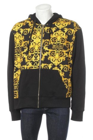 Ανδρικό φούτερ Versace Jeans, Μέγεθος 3XL, Χρώμα Μαύρο, Βαμβάκι, Τιμή 120,03€