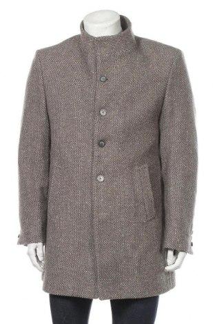 Palton de bărbați Giorgio Di Mare, Mărime XL, Culoare Gri, 50% poliester, 25%acril, 15% viscoză, 10% lână, Preț 285,20 Lei