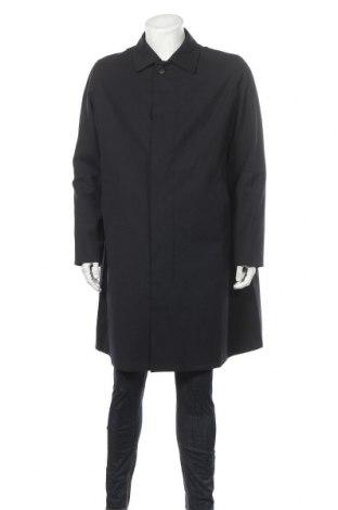 Ανδρικά παλτό Hugo Boss, Μέγεθος L, Χρώμα Μπλέ, 52% πολυεστέρας, 43% μαλλί, 5% ελαστάνη, Τιμή 284,69€