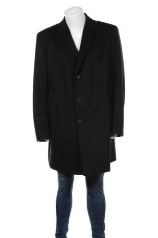 Palton de bărbați Hugo Boss, Mărime XXL, Culoare Negru, 90% lână, 10% cașmir, Preț 363,81 Lei